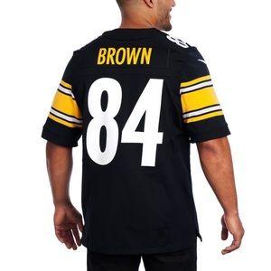 Pittsburgh Steelers #84 Antonio Brown Home Jersey
